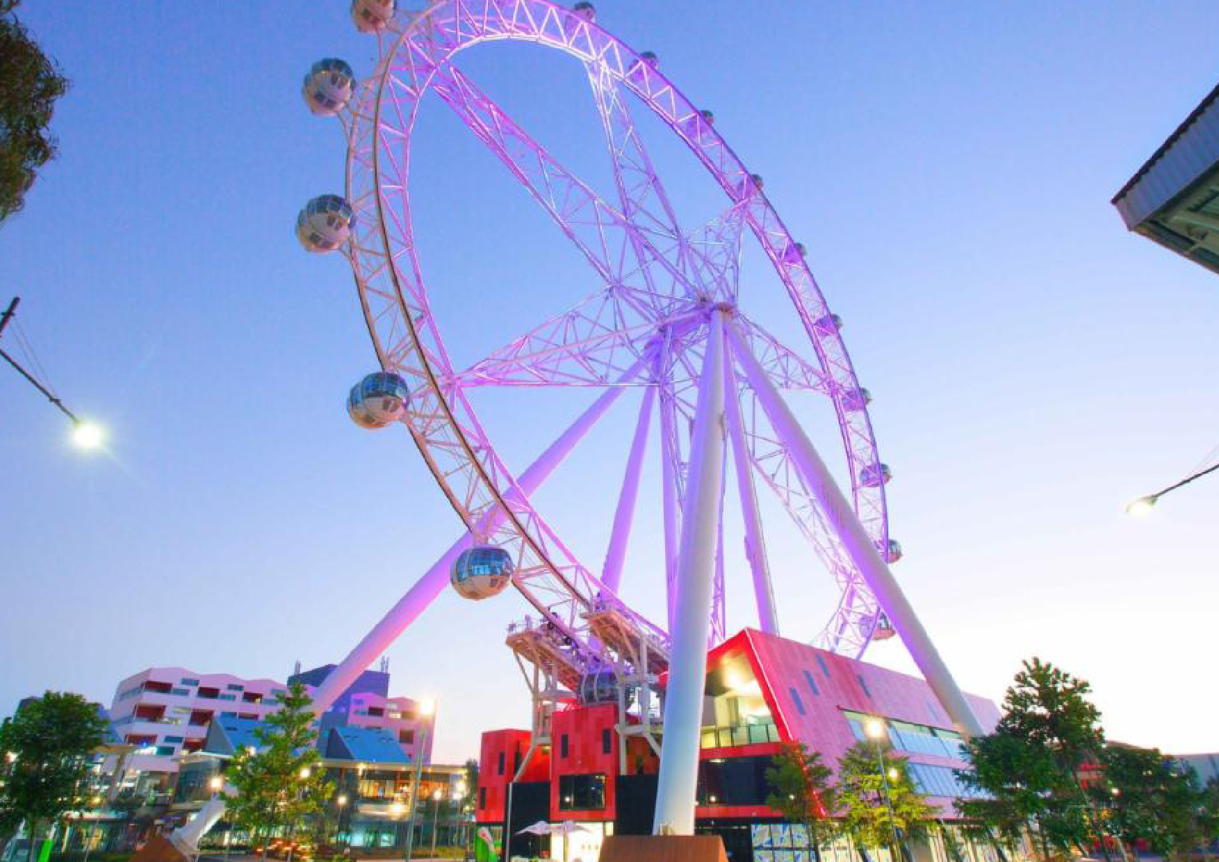 Ferris Wheel at carnival - School holiday favourite